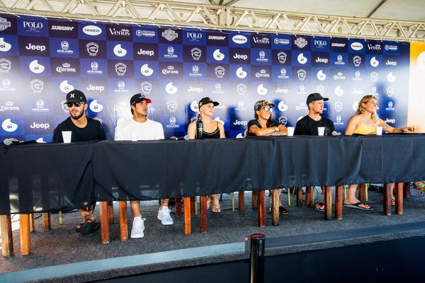 Coletiva de Imprensa (Poullenot / WSL via Getty Images)